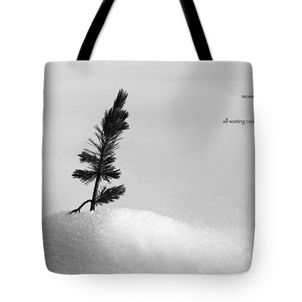 Tote Bag featuring the photograph Zen Wisdom Stillness by Peter v Quenter