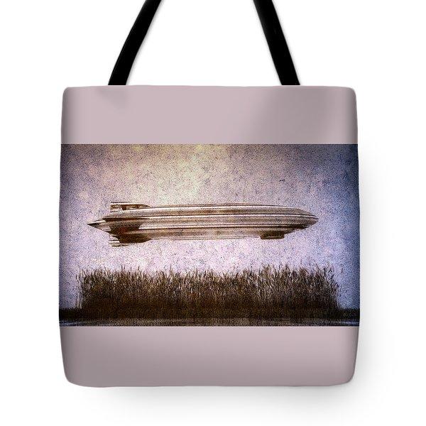Zeppelin  Tote Bag by Bob Orsillo