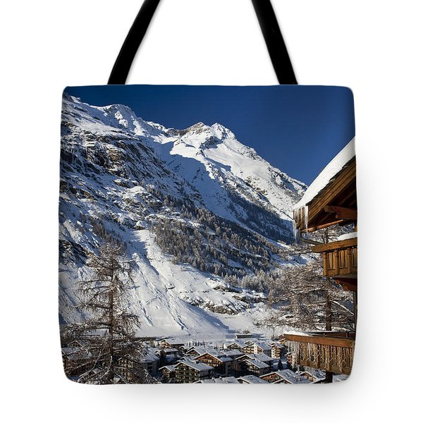 Zermatt Tote Bag by Brian Jannsen