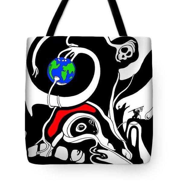 Zero Gravity Tote Bag
