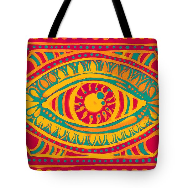 Zesty Gypsi Eye Tote Bag