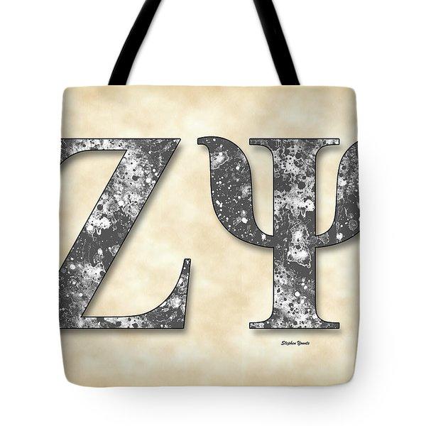 Zeta Psi - Parchment Tote Bag