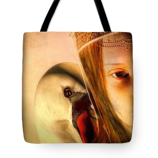 Zeus And Leda Tote Bag by Bob Orsillo