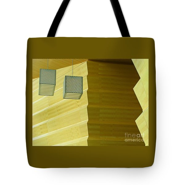 Tote Bag featuring the photograph Zig-zag by Ann Horn