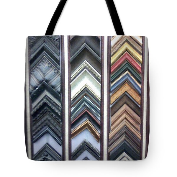 Tote Bag featuring the photograph Zig Zags by Fortunate Findings Shirley Dickerson