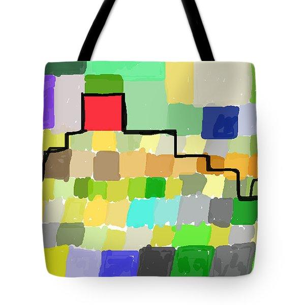 Ziggurat Tote Bag