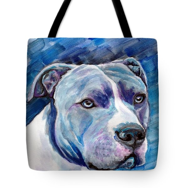 Tote Bag featuring the painting Ziggy by Ashley Kujan