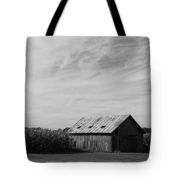 Zink Rd Farm 2 In Black And White Tote Bag
