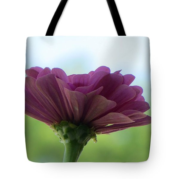Zinnia Dream Tote Bag by Sonali Gangane