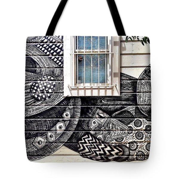 Zio Zigler Mural Tote Bag