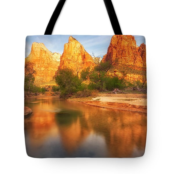 Zion First Light Tote Bag