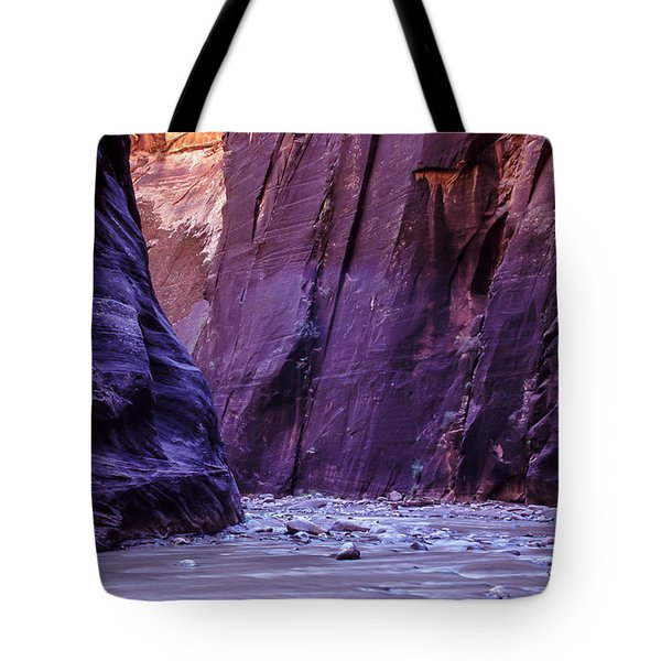 Zion Narrows Tote Bag
