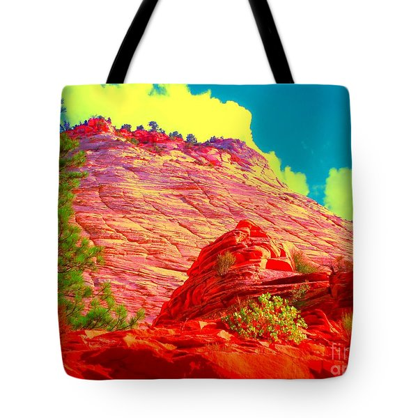 Zion Rising Tote Bag by Ann Johndro-Collins