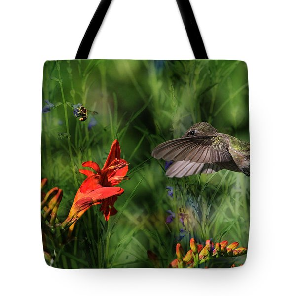 Zip-a-dee-doo-dah Tote Bag by Donna Kennedy