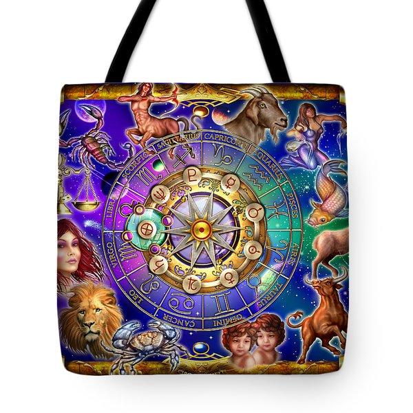 Zodiac Tote Bag by Ciro Marchetti