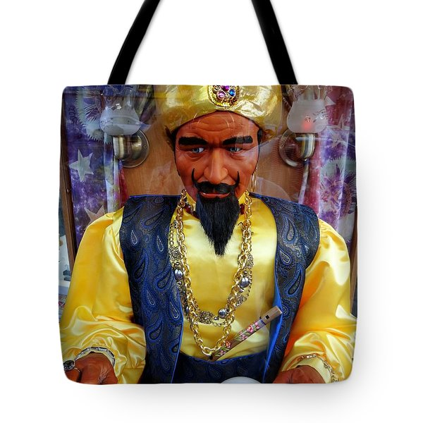 Tote Bag featuring the photograph Zoltar by Ed Weidman