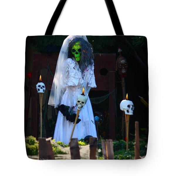 Zombie Bride Tote Bag by Patrick Witz