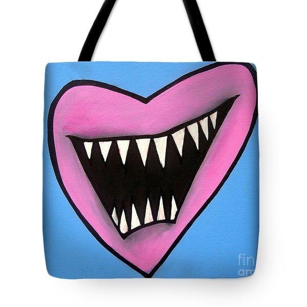 Zombie Heart Tote Bag