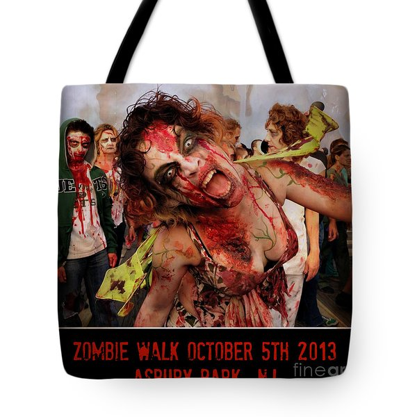 Zombie Walk 2013 Tote Bag