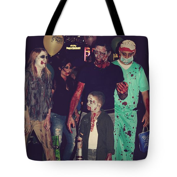 Zombies Everywhere Tote Bag