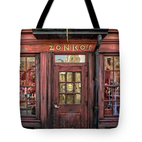 Zonkos Joke Shop Hogsmeade Tote Bag