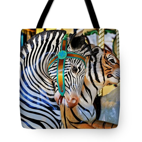 Zoo Animals 2 Tote Bag by Marty Koch