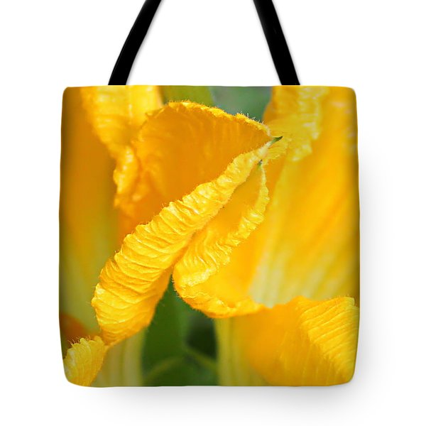 Zucchini Flowers In May Tote Bag by Kume Bryant