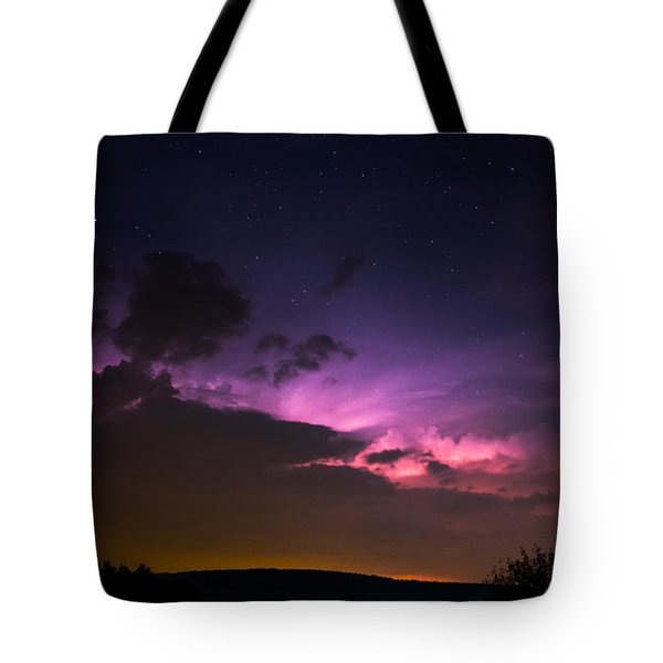 Zues At Play Under The Stars Tote Bag
