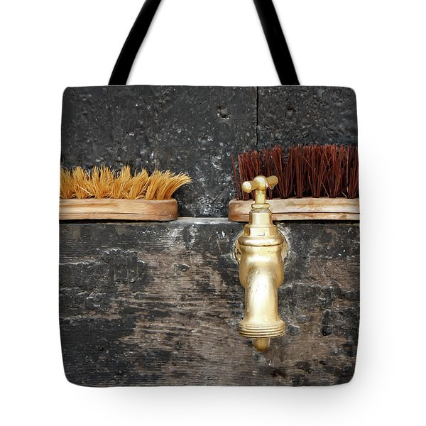 Tote Bag featuring the photograph Zuiderzee Brushes by KG Thienemann