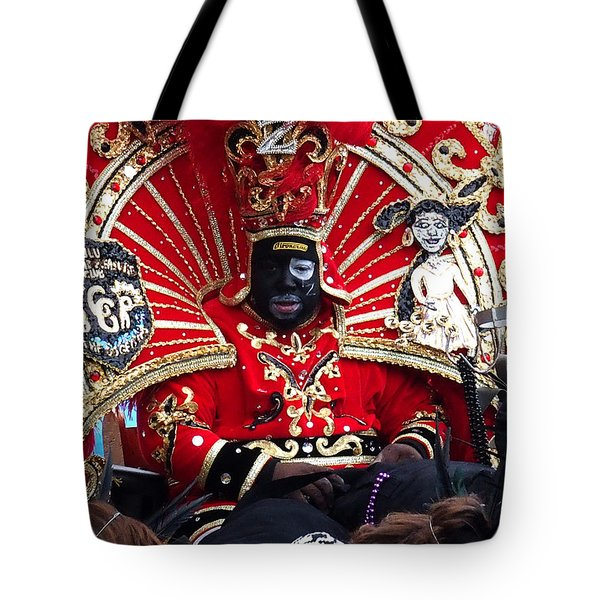 Zulu Mardi Gras Tote Bag by Steve Archbold