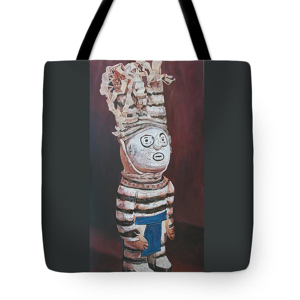 Zuni Clown Tote Bag