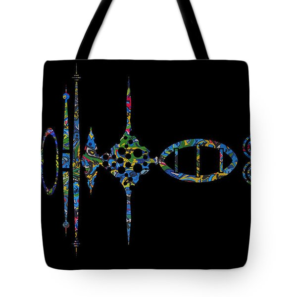 Zunzigar Reflection Tote Bag by Mark Blauhoefer