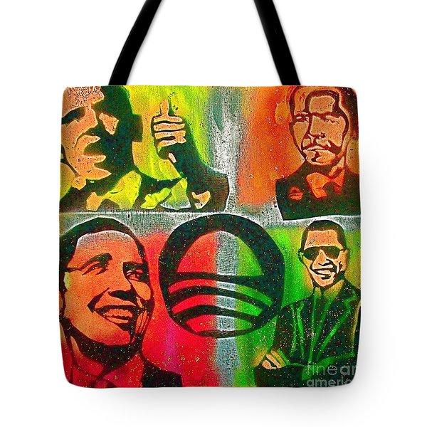 4 Barack  Tote Bag by Tony B Conscious