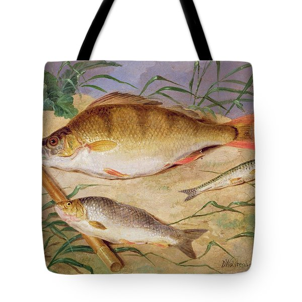 An Angler's Catch Of Coarse Fish Tote Bag by D Wolstenholme