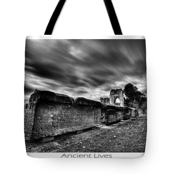 Tote Bag featuring the photograph  Ancient Lives by Beverly Cash