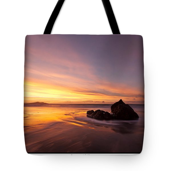 Tote Bag featuring the photograph  Atomic Sunset by Beverly Cash