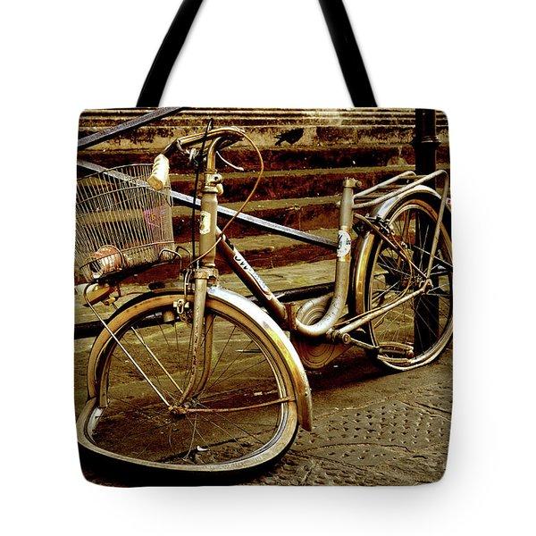 Bicycle Breakdown Tote Bag