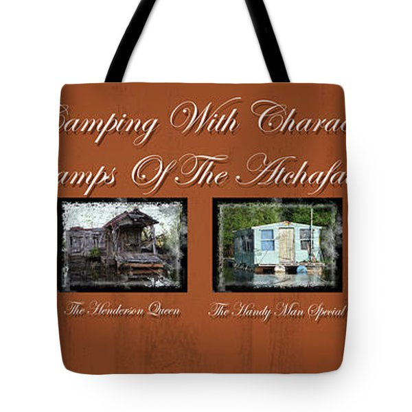 Camps Of The Atchafalaya Basin Tote Bag