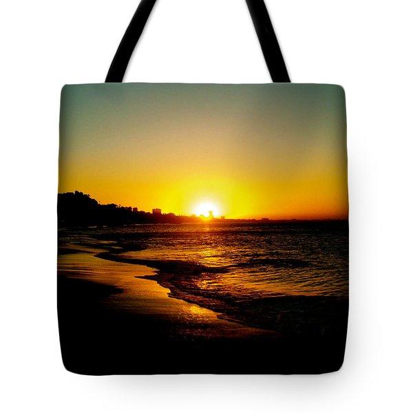Christmas Sun Tote Bag by Joe  Burns