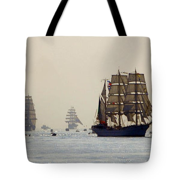Colossal Vessels Tote Bag