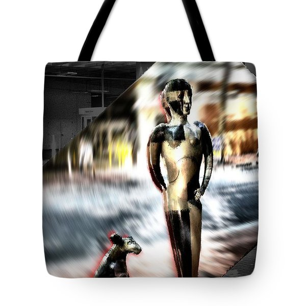 Critics Tote Bag by Terence Morrissey