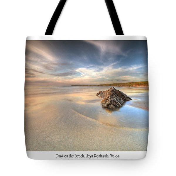 Dusk On The Beach Tote Bag
