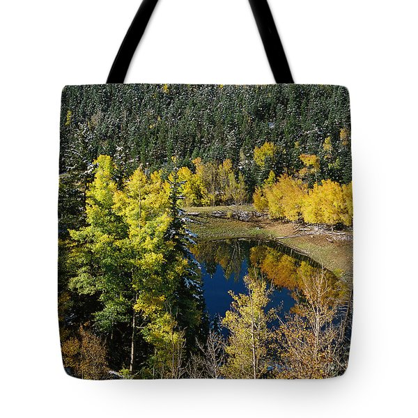 Fall Color On Bobcat Pass Tote Bag