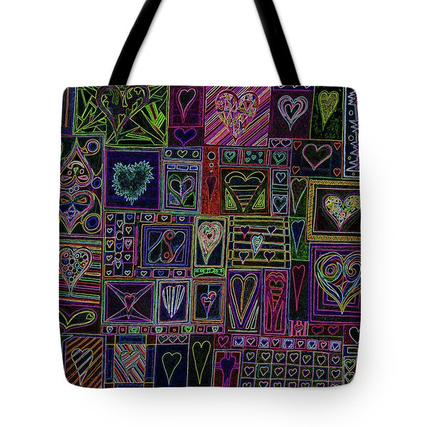 Find U'r Love Found V 3 Tote Bag