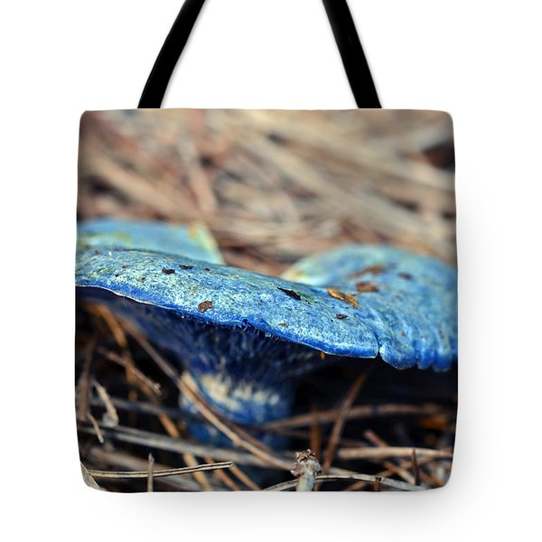 Tote Bag featuring the photograph  Indigo Milky by Susan Leggett