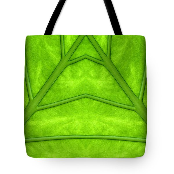 Tote Bag featuring the photograph  Leaf Street by Odon Czintos