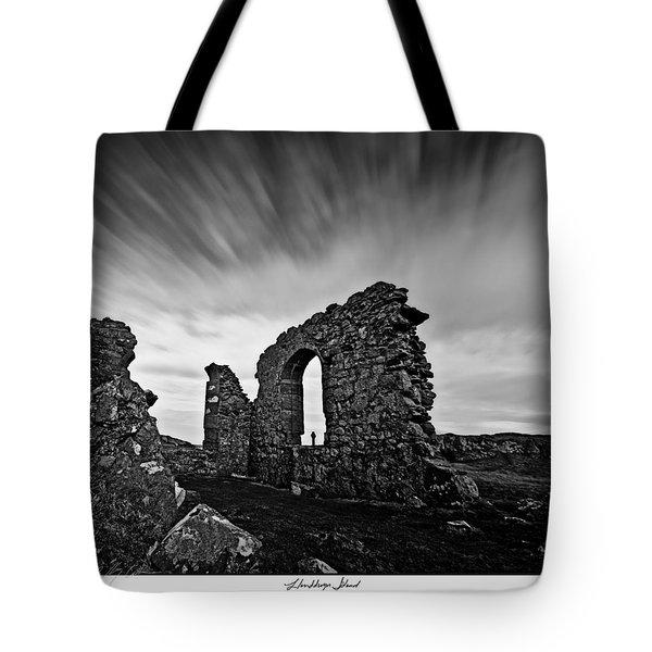 Llanddwyn Island Ruins Tote Bag