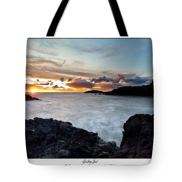 Llanddwyn Island Sunset Tote Bag