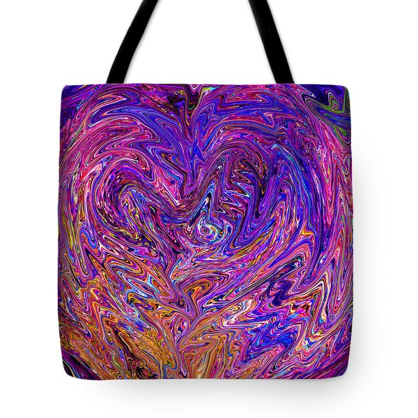 Love From The Ripple Of Thought  V 6  Tote Bag