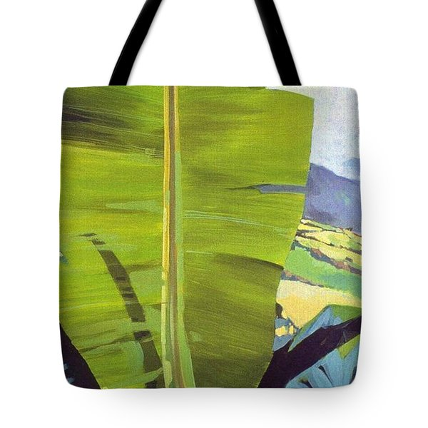 Maui Plantation Tote Bag by Andrew Drozdowicz